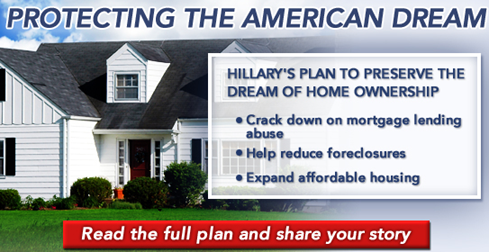 Hillary housing policy